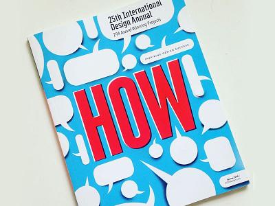 HOW magazine cover magazine cover how publication magazine editorial editorial design how-magazine