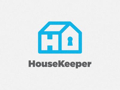 House Keeper Logo housekeeper alxandr logomark mark identity logo house keeper