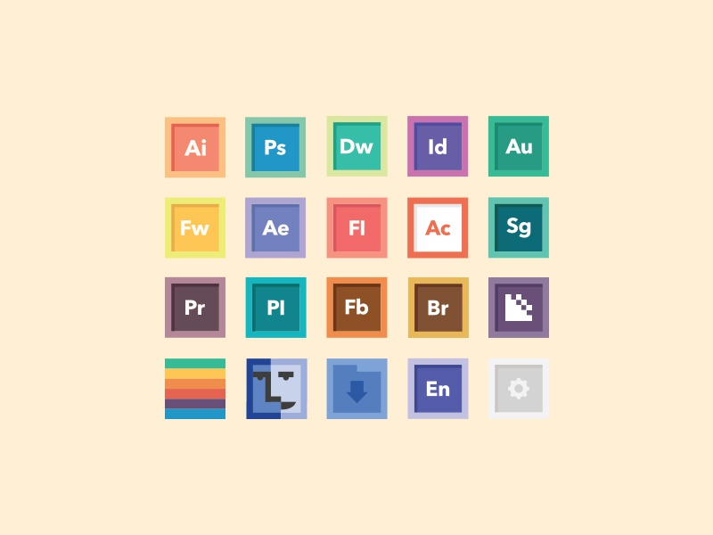 Free Icon Set 1.0 icon icons iconography minimal free download free icons flat pastel finder osx ui