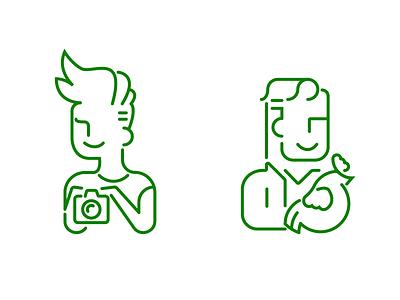 People Illustrations illustration intuit quickbooks