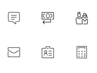 Mobile UI Iconset