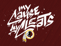 My Cause My Cleats - Redskins