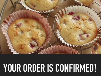Fruug app (Order Confirmation) fruug food deals restaurants eating