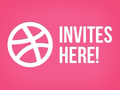 2x Dribbble Invites here! invites dribbble givaway