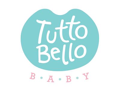 Tuttobello Baby corporate identity baby ecommerce identity logo kids soft