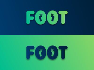 Foot Typo Logo