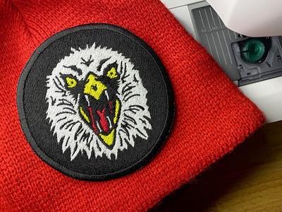 Eagle Fang!!! logo kai karate patch season 3 karate kid cobra cobrakai eaglefang fang eagle