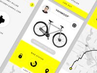Vanmoof App