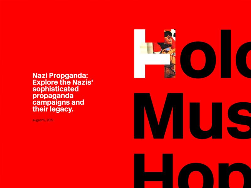 Holocaust Museum Exhibition Design