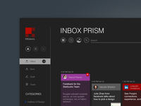 Email client visualization study (Prism)