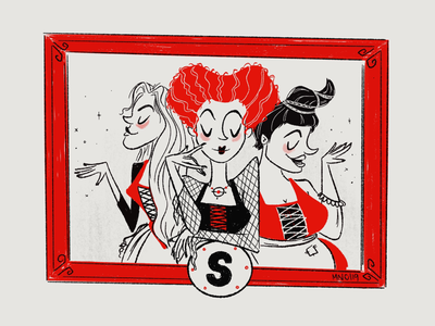 S is for the Sanderson Sisters