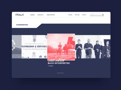 Track - homepage