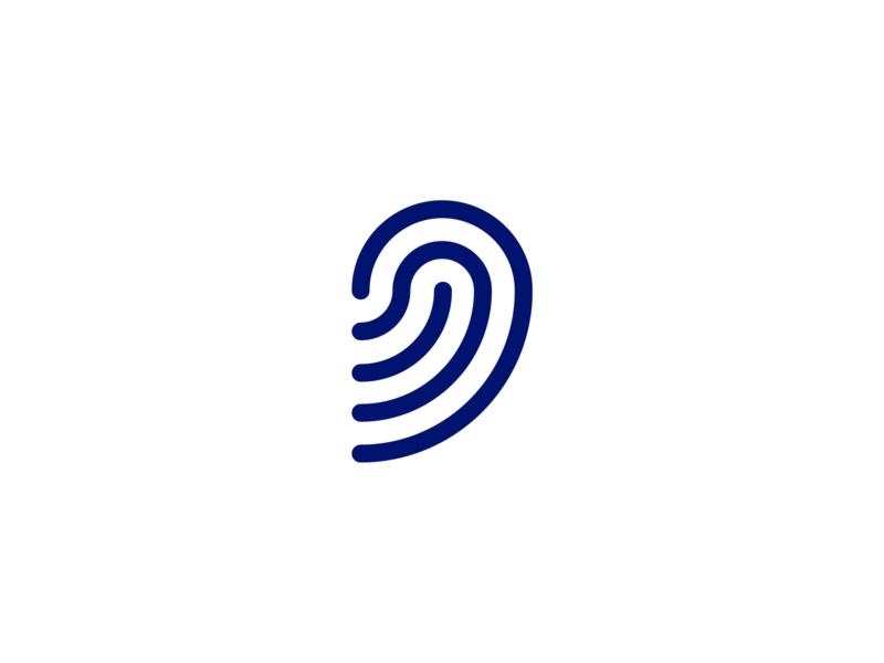 Turritopsis wave radio wifi signal startup dohrinii immortal medusa app icon branding design logo jelly fish jellyfish
