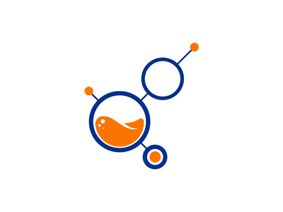 Labor Lab Logo study orange professional training logo resources human lab labor