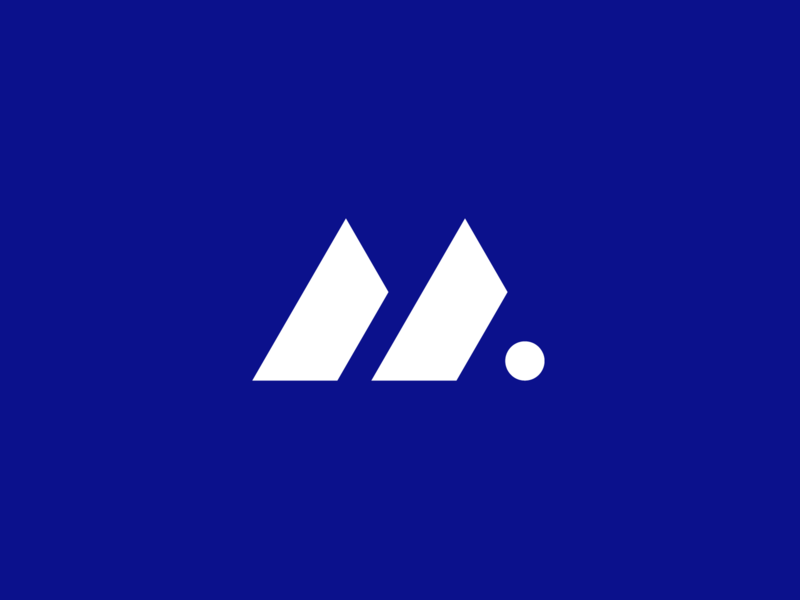 Armadillo Logo vector information business company software xenarthra shell armour mammals minimal symbol blue design logo armadillo