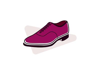 Shoes Store logo brand shoemaker oxford laces luxury elegant foot footwear shoe gentlemen app icon branding vector illustration business design logo shoes