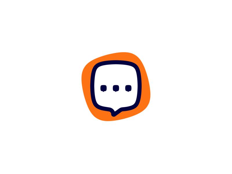 GetHerd Logo workforce ideas listen platform voice employee communication feedback company hr bubble speach heard herd app branding vector business logo design