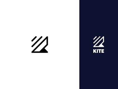 Kite Logo connection internet exchange video apps combine call calls voice messaging 2g logo design app icon vector branding business design logo