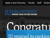 Iqra University Revamp
