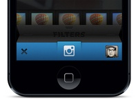 Instagram Revamp revamp camera ios instagram ui design designer iphone photography blue app