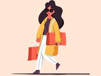 A little shopping