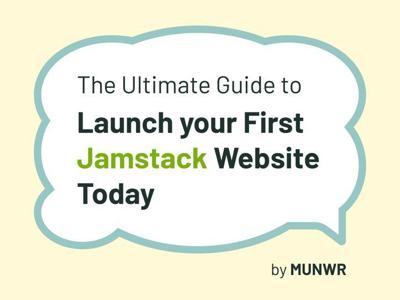 Book Cover jamstack design book cover