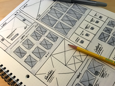 Making the web a better place wireframes redesign ui ux web design