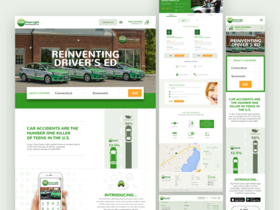 Driving School Redesign