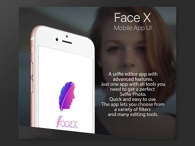 Facex UI 1/3 editor app ui