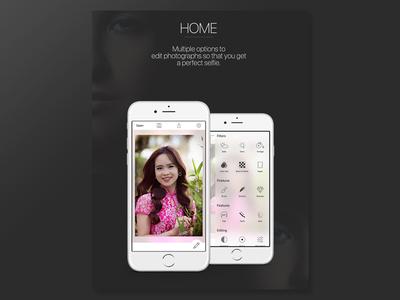 Facex UI 2/3 editor app ui