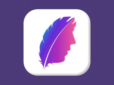 Facex App Icon sketch face icon app icon
