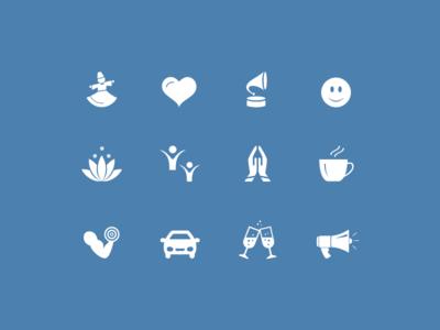 Music Moods Icon icon design icons moods music iconography