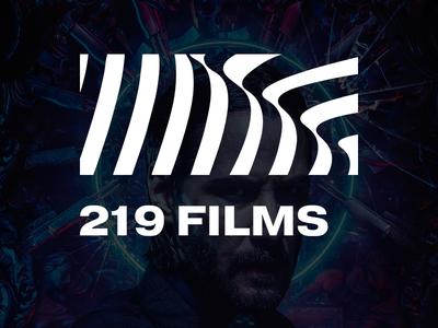 219 Films Logo design logodesign minimal studio film logo