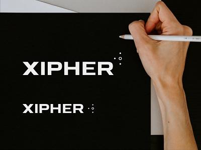 Xipher Logo branding webdesign website mobile web design logo