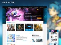 Game Publisher Portal Re-Skin