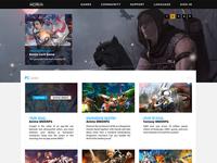 Game Publisher Portal Re-Skin #2