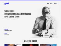 CV Header Design Concept