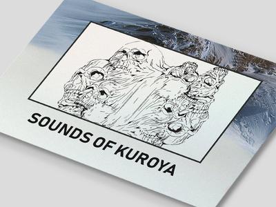 Sounds Of Kuroya (sound in discription) instagram sound guitar design illustration clean m4terial cover art poster music