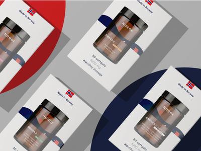 NORGE packaging minimal branding design packaging