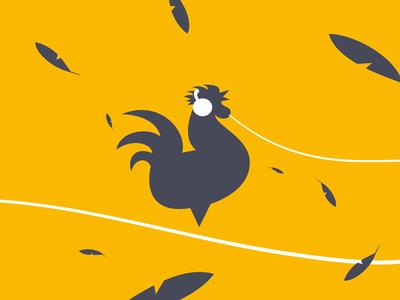 musicNOW brand hero music rooster logo