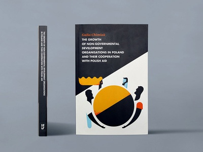 the growth of.... print design illustration cover book