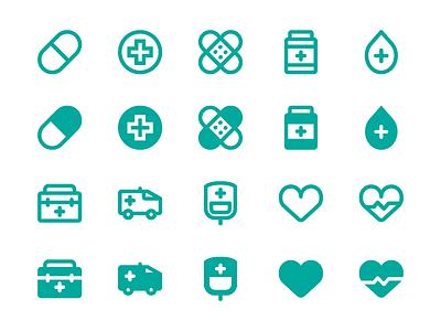 Medical Icon ambulance health iconfinder pill heart blood icon hospital medical