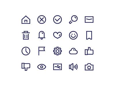 Freebie Icon love gallery cloud emoticon search home ux ui interface icon free freebie