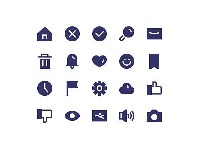 Freebie Icon freebie free icon interface ui ux home search emoticon cloud gallery love