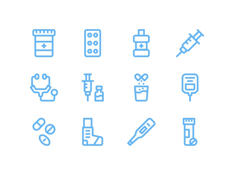 Download Medicaments Icon Pack