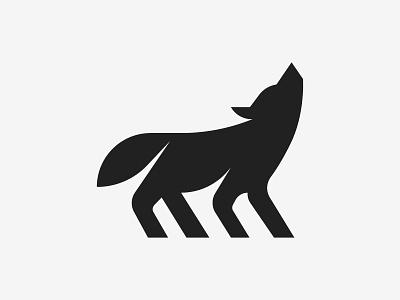 Wolf Logo (for sale) symbol brand illustration silhoutte wild animal wolf logo