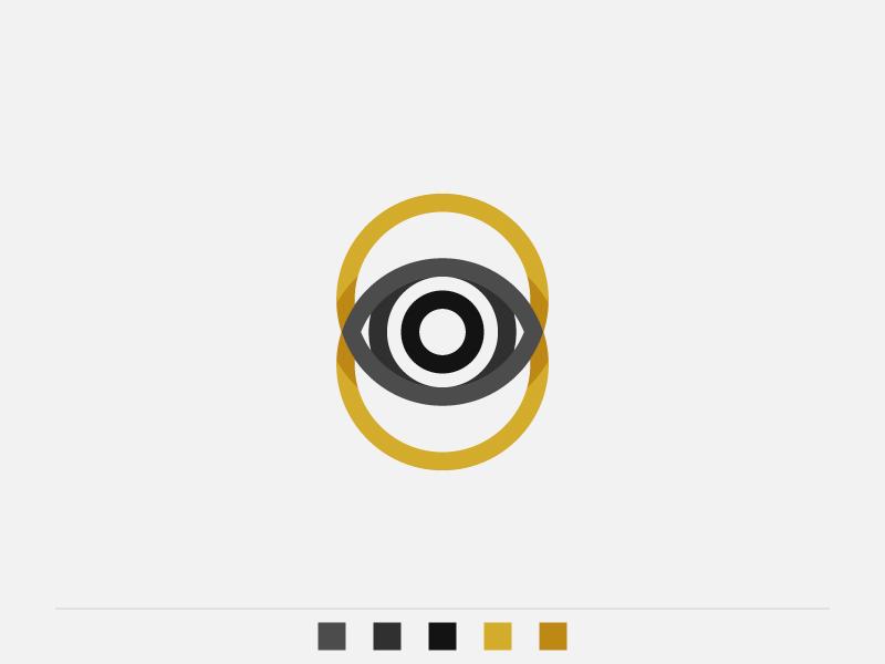 Overleye exploration d2 wacom illustrator adobe logo branding rings eye overlay
