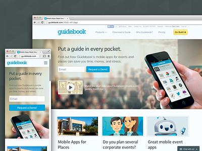 Guidebook Responsive Refactor responsive guidebook web-design web-development