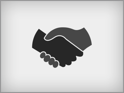 shaking hands by pete lada dribbble