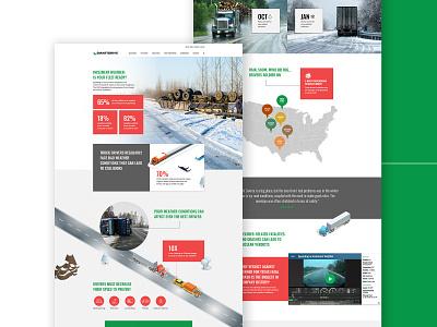 SmartDrive Infographic Design infographic website design landing page web ux design ui